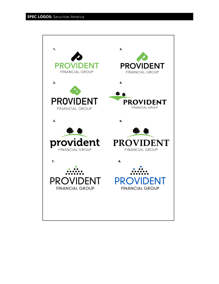 Provident spec logos